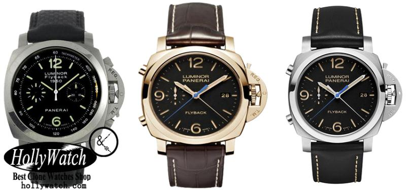 Panerai Luminor 1950 Chrono Flyback Replica Watches
